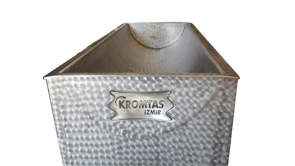 Buharlı Açık Et KAvurma Makinası